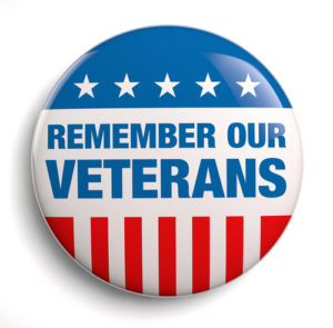 Chiropractor caring for veterans