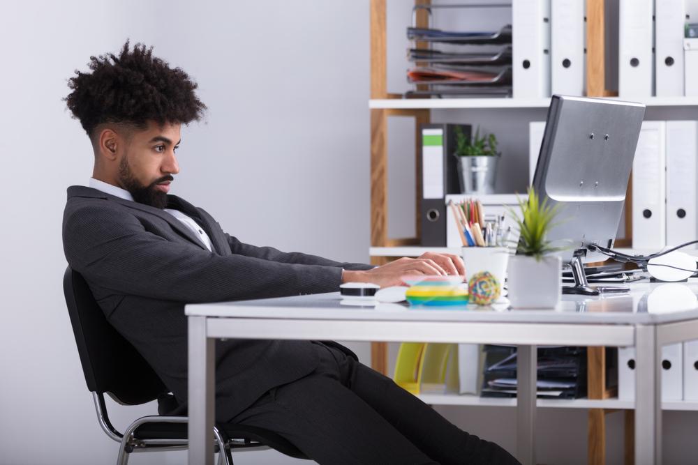 Desk posture, standing desk